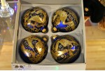 SET OF 4 BAUBLES Z-5